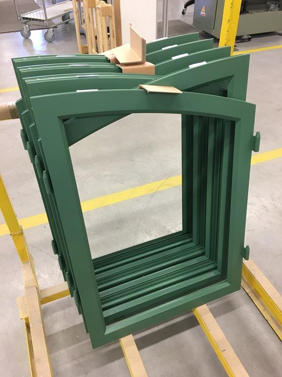 Fönsterbågar i aluminium
