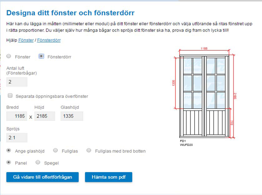 Fönsterdesign
