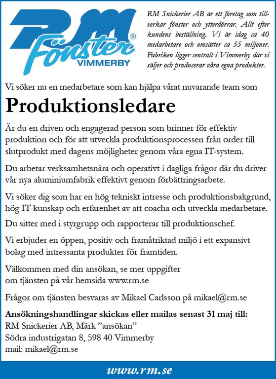 Produktionsledare