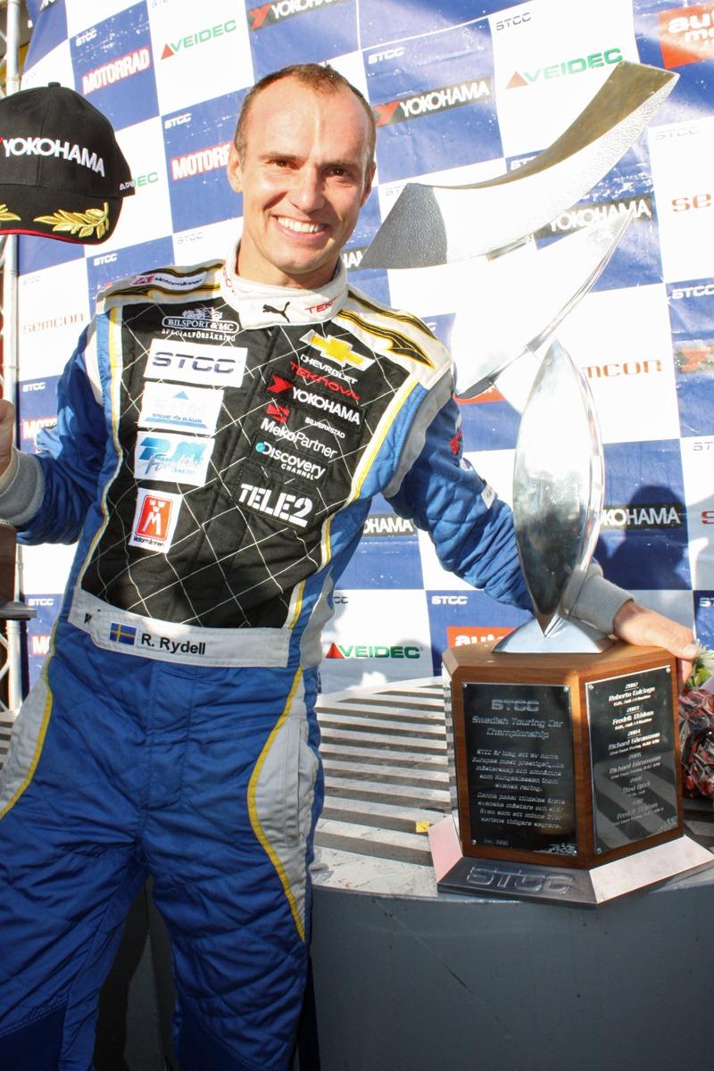Rickard Rydell, STCC-mästare 2011
